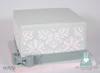 W9156-grey-pink-damask-wedding-cake-toronto-oakville