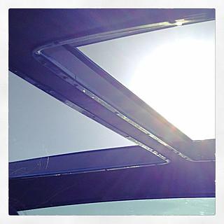 boat sunroof sun