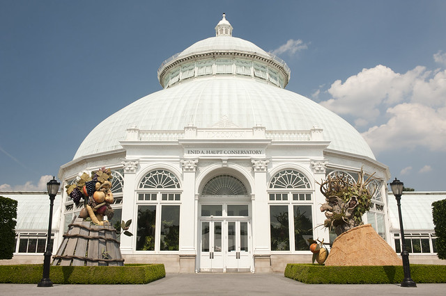 Four Seasons with the Conservatory Dome.