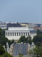 Arlington - View of Lincoln Memorial