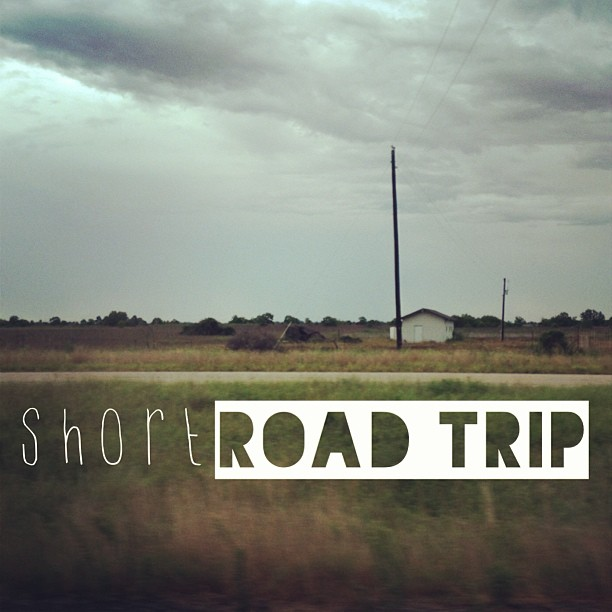 Let's go on a short #roadtrip!  See ya later #houston.