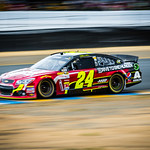 Jeff Gordon At Sonoma 2013