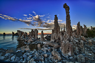 Tufa Towers at Mono Lake, CA