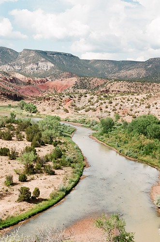abiquiu, new mexico- chama river