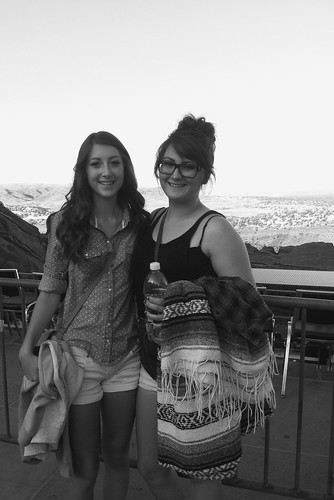 Z Crew: Callie and Taylor at Red Rocks