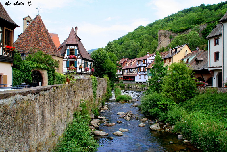 pueblos de cuento en Alsacia