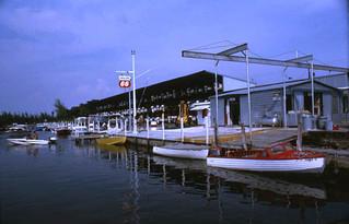 Denny Mercer's marina in Sarasota, Florida
