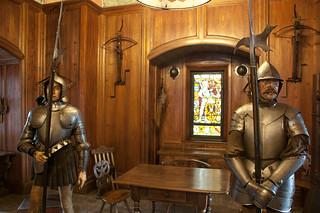 Visite du Château du Haut Koenigsbourg - Salle d'armes