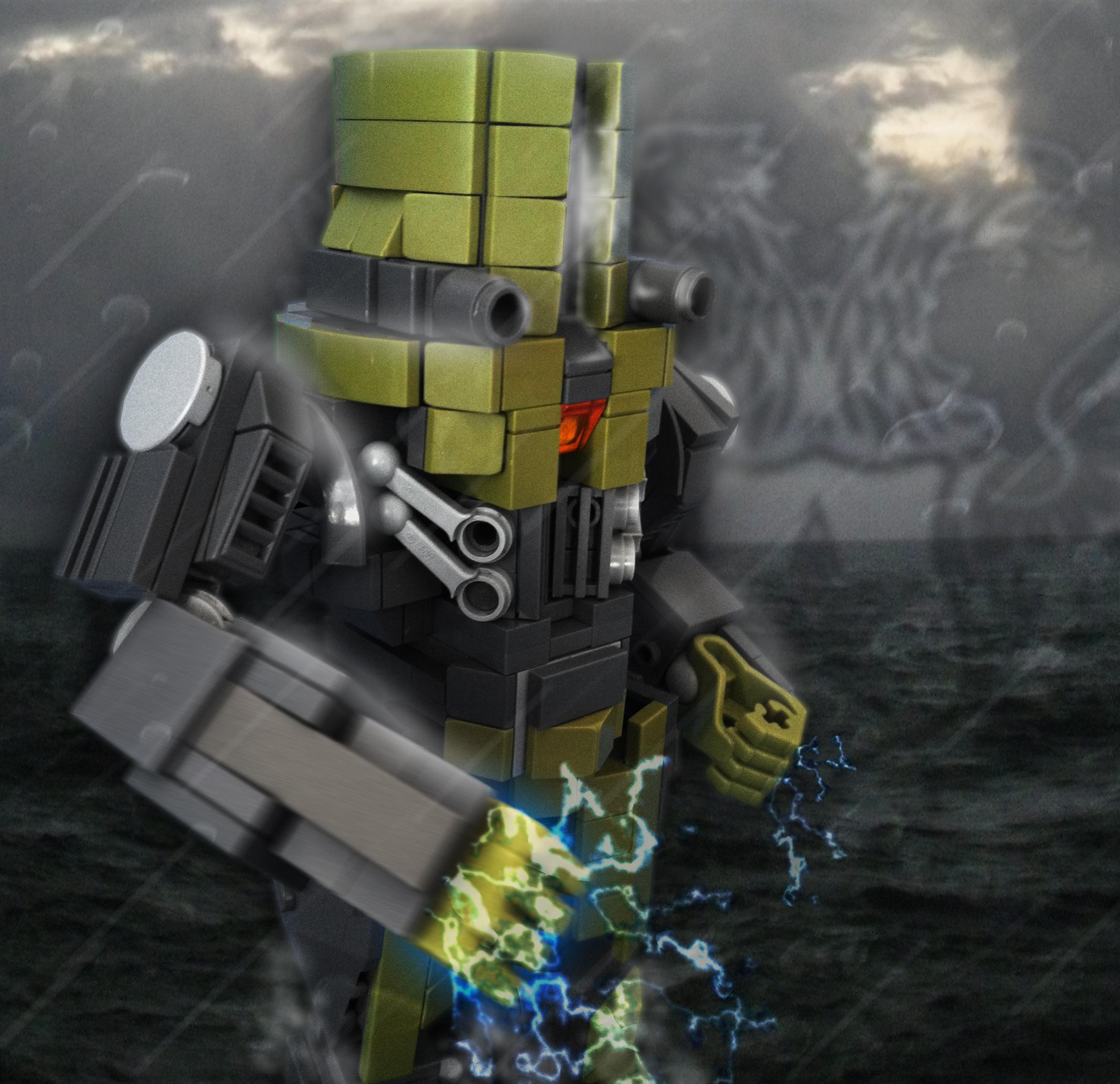 Pacific Rim's Cherno Alpha Jaeger [OC] (More in comments ... Pacific Rim Cherno Alpha Anime