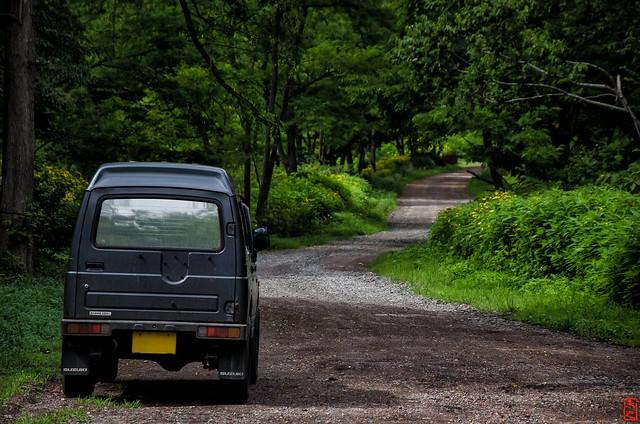 「道」 三笠市幌内 - 北海道