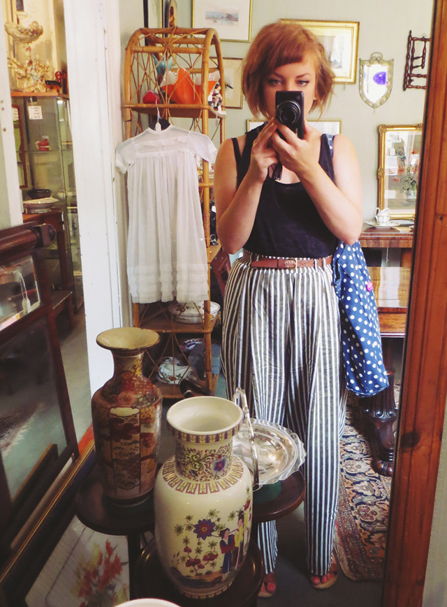 antique shop mirror