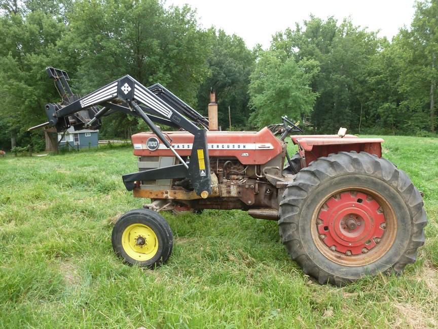 Massey Ferguson 1100 diesel tractor | thornhill3 | Flickr