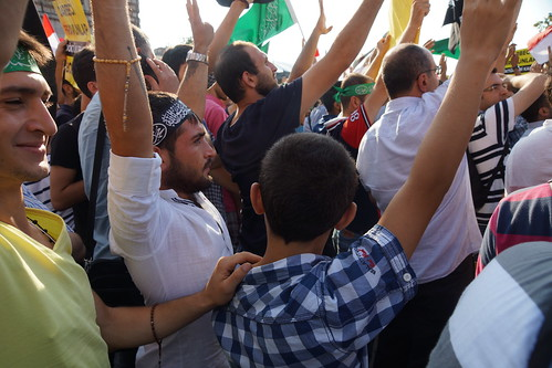 A pro-Morsi Brotherhood demo in Eminonu by CharlesFred
