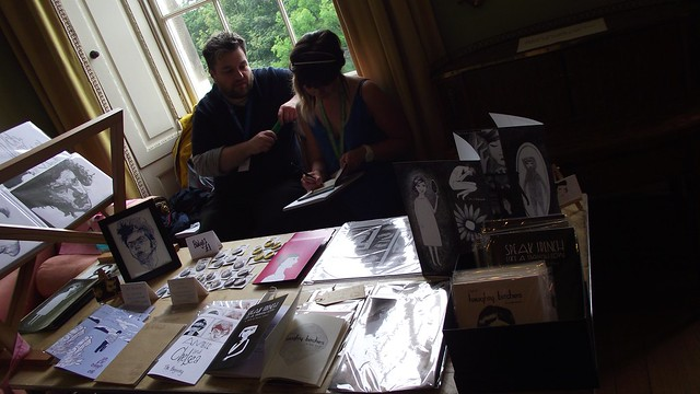 Stripped Mini Comic Fair at Edinburgh Book Fest 2013 010