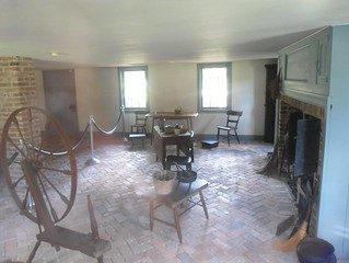 Interior of the stone house