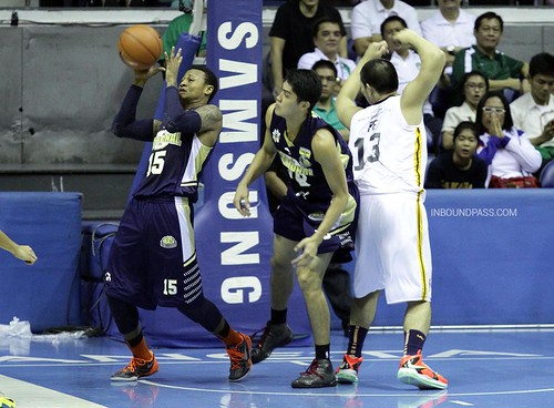 UAAP Season 76: NU Bulldogs vs. UST Growling Tigers, Aug 24