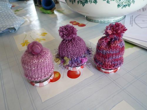 3 pinks