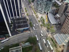 urban design(0.0), sport venue(0.0), overpass(0.0), skyway(0.0), stadium(0.0), arena(0.0), neighbourhood(0.0), tower block(1.0), metropolitan area(1.0), highway(1.0), junction(1.0), bird's-eye view(1.0), transport(1.0), suburb(1.0), public transport(1.0), metropolis(1.0), urban area(1.0), cityscape(1.0), residential area(1.0), condominium(1.0), aerial photography(1.0), city(1.0), downtown(1.0), intersection(1.0),