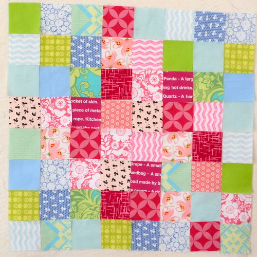Start of a spring quilt