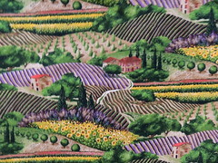 "Michael Miller Fabric, ""Provence"""