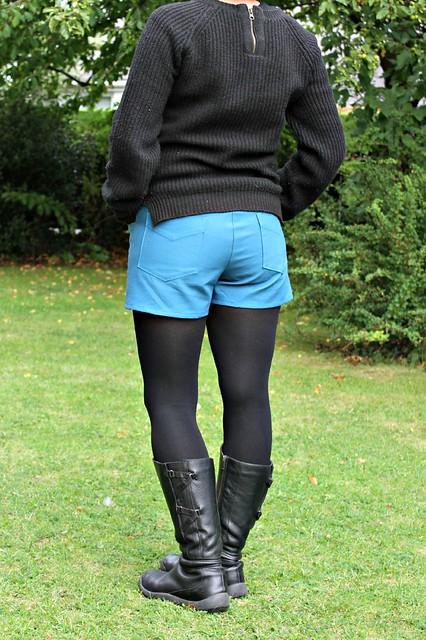 maritime shorts back