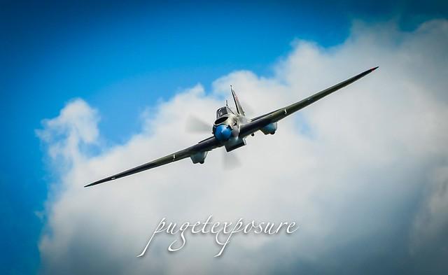 Attack run IL-2 Shturmovik
