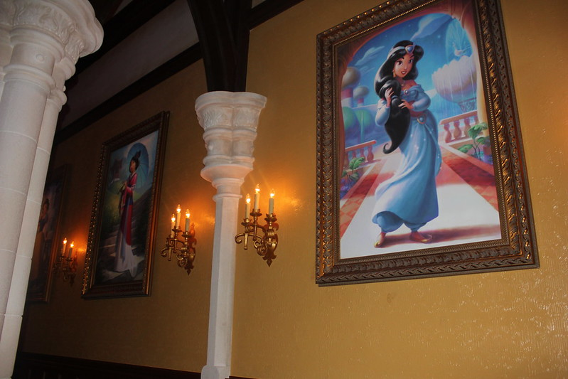 Princess Jasmine Portrait at Fairytale Hall