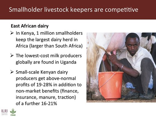Slide 6: Smallholder livestock keepers are competitive