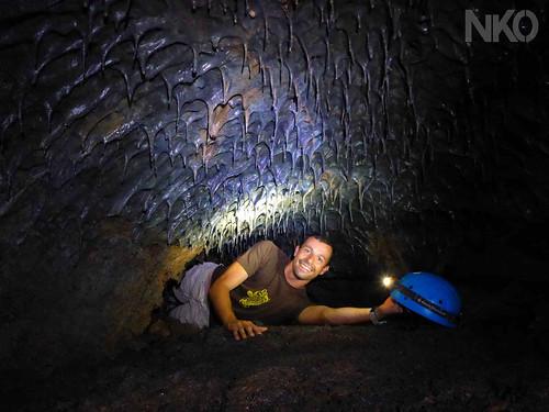 Lava tunnels + Speleology