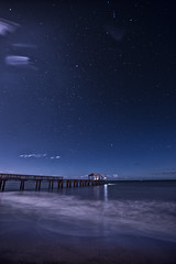 Waimea Pier Beneath the Stars