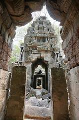 Fallen temple hallway?