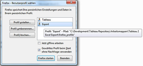 Automatically Exporting Multiple Cross Tables from Tableau Server