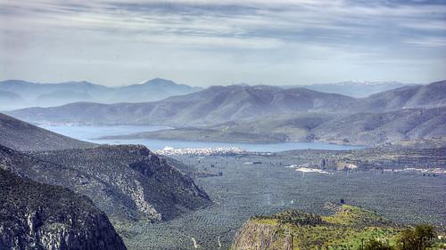 landscape greece hdr