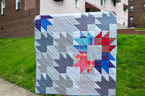 Modern Bear Paw Quilt: Done!