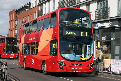 EL1 to Barking, from Ilford. Yeah...