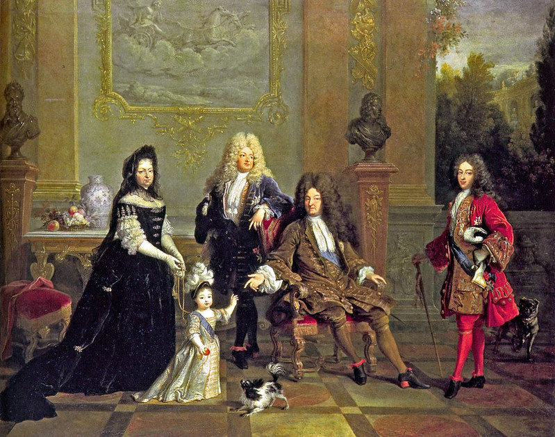 Louis XIV and His Family, by Nicolas de Largilliere