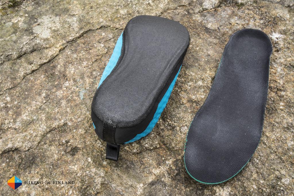 Arc'teryx Acrux² FL GTX - Liner bootie and its insole