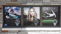 Printed Perforated Invisa-view Outdoor Application