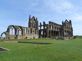 Whitby Abbey (Yorkshire, Inglaterra)