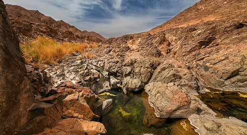 landscape oman wadi fanja
