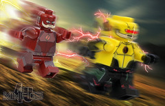 Flash vs. Reverse Flash - Minifigs4u