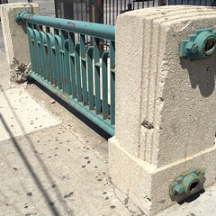 "Art-Deco Railing ""remnant"""
