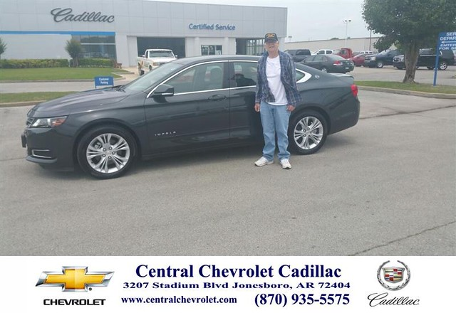 Congratulations To James George On Your Chevrolet Impala