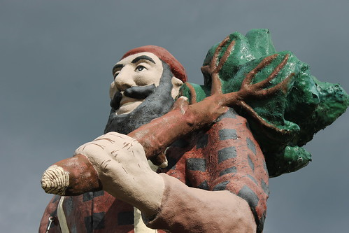 Paul Bunyan Statue (Oscoda, Michigan) - October 11, 2014