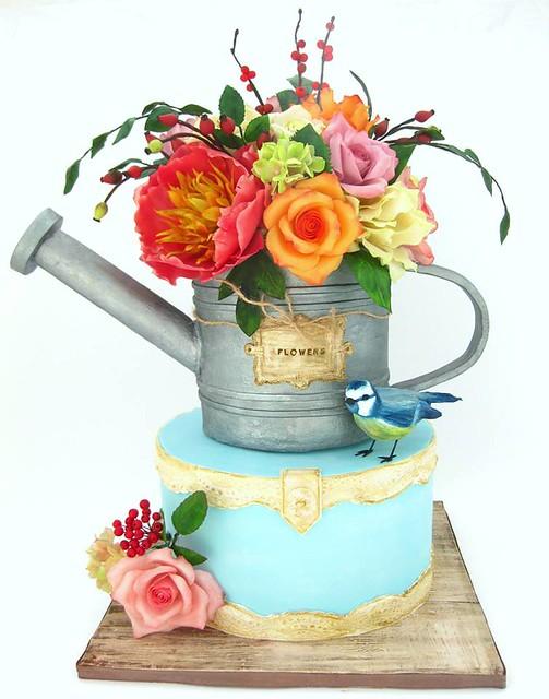 Cake from Cakes by Mina Bakalova