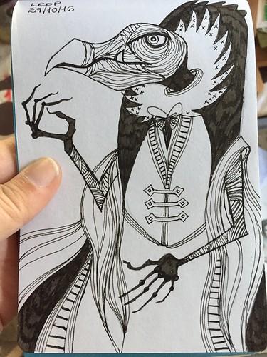 29 Inktober 2016 - Skeksis - Dark Crystal
