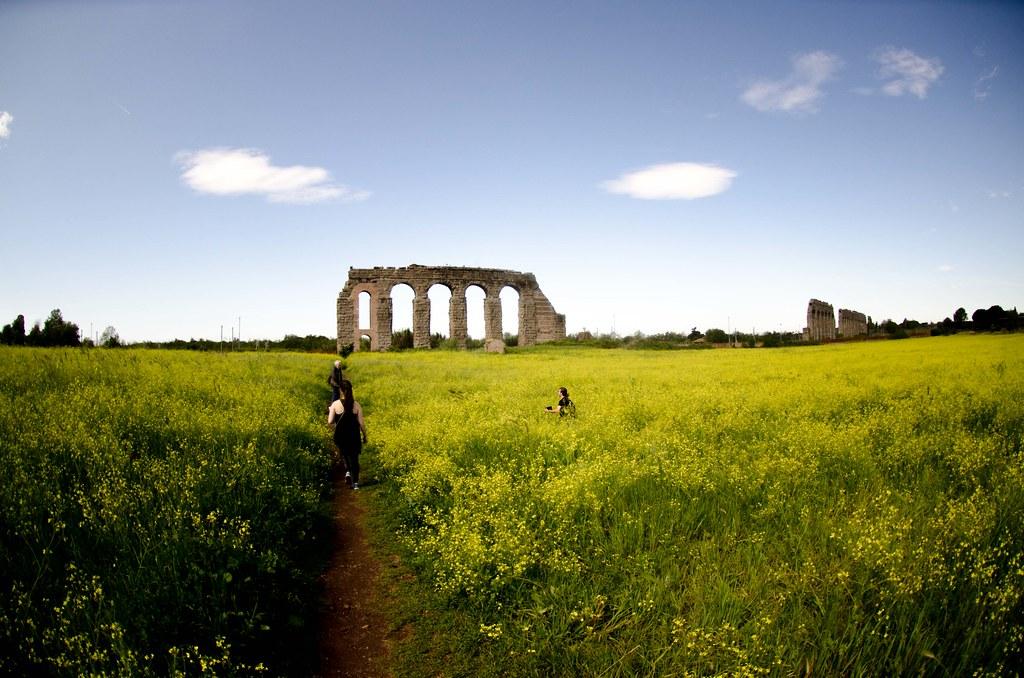 Field trip near Rome.