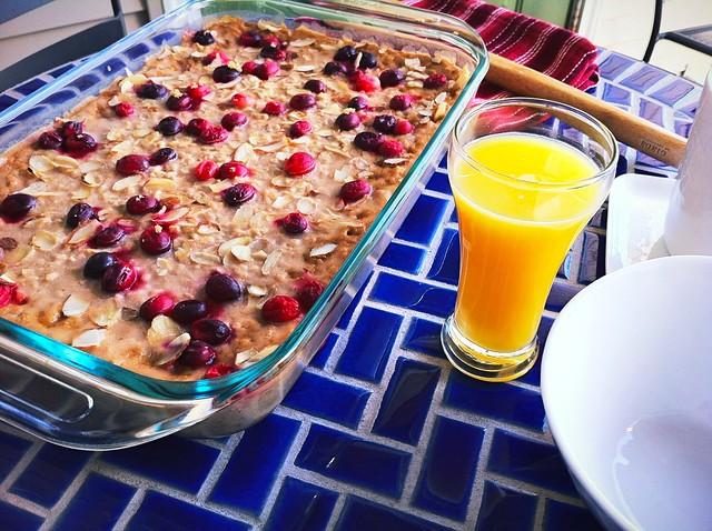Healthful Baked Oatmeal
