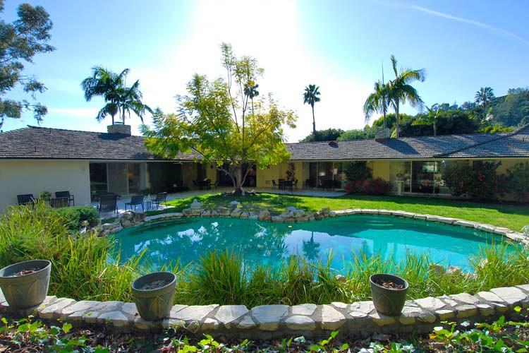 Morey Amsterdam Residence - N HILLCREST RD - Beverly Hills, CA - Built 1958