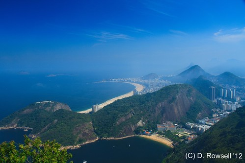 View From Pao De Acucar (Sugar Loaf)